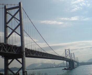 瀬戸大橋でけぇ!