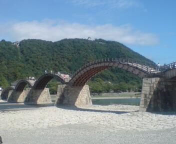 岩国錦帯橋!