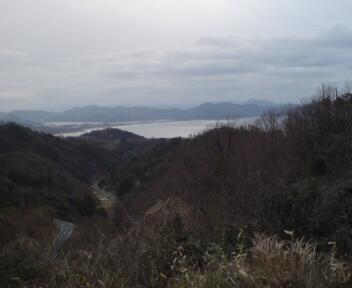 日本海一望